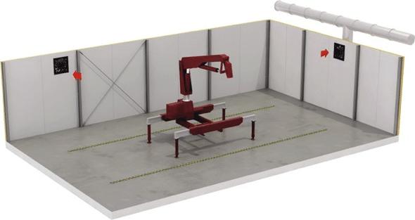 Průmyslový axiální ventilátor
