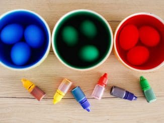 barvy na vejce